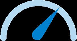 snelheidsmeter icoon